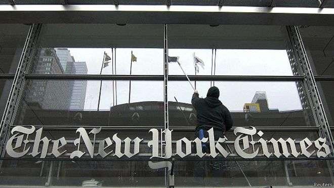 Las páginas editoriales de 'The New York Times' tienen ahora un mayor énfasis latinoamericano. Foto: BBCMundo.com
