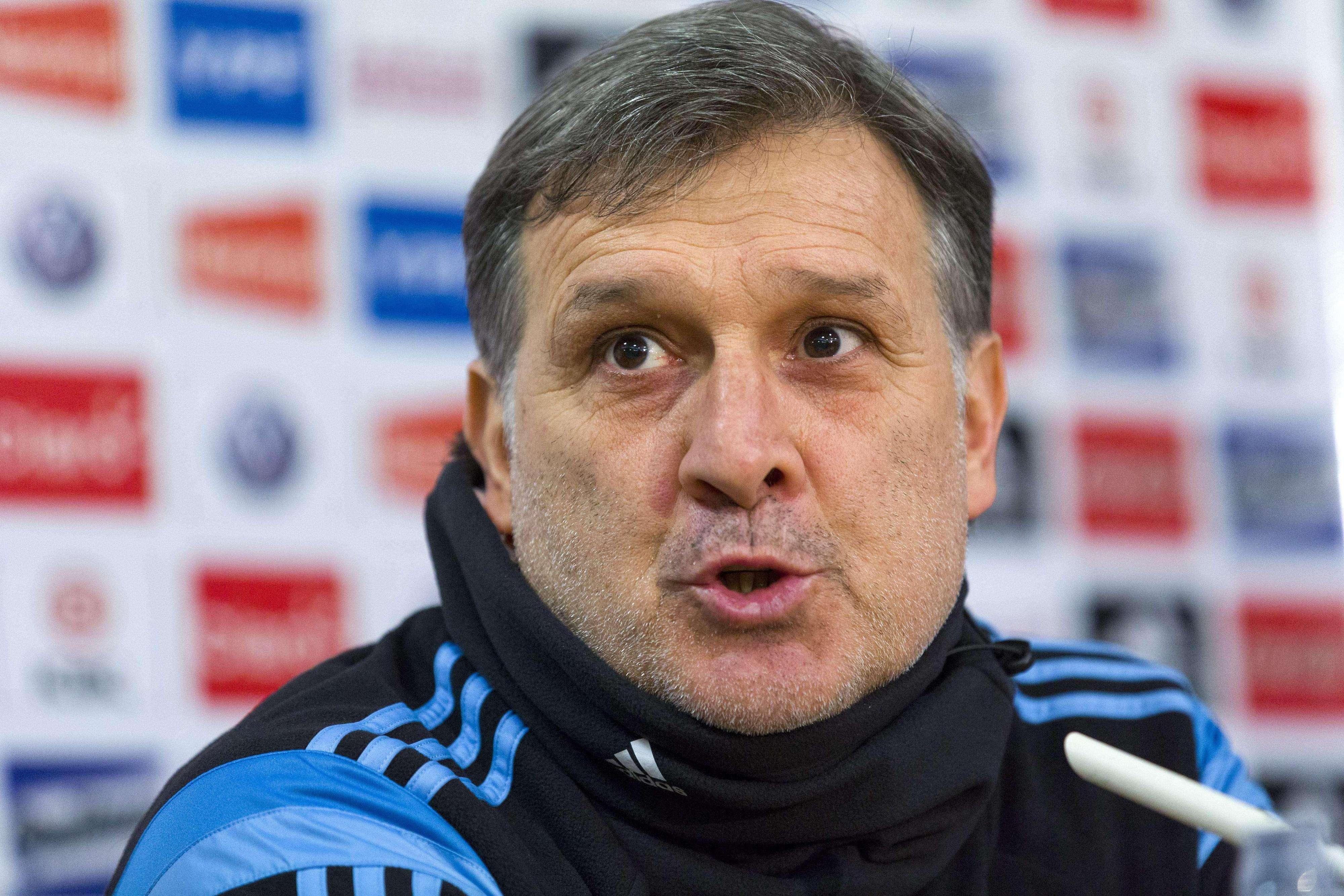 El Tata Martino quiere probar jugadores en los dos amistosos ante Croacia y Portugal. Foto: AFP en español