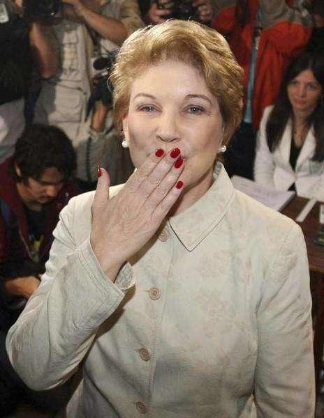 Marta Suplicy (PT), em foto de arquivo, em São Paulo. 05/10/2008 Foto: Rodrigo Paiva/Reuters
