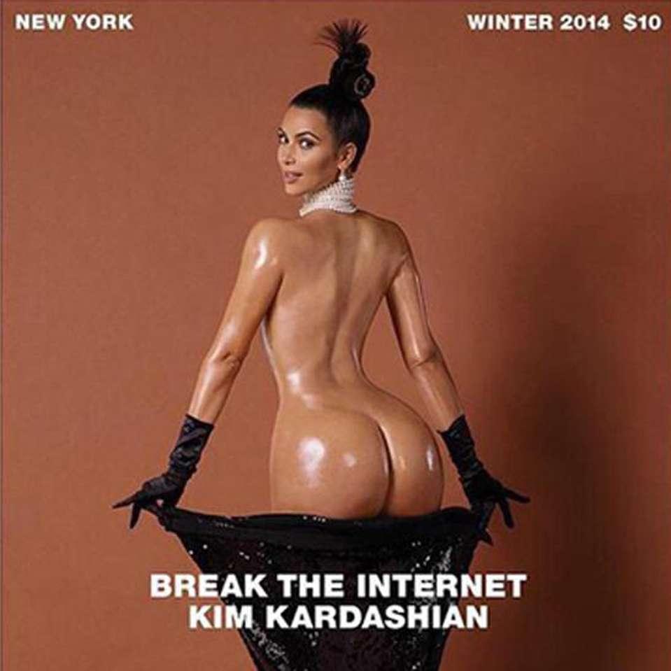 Fotos de Kim Kardashian y sus sensuales apariciones en las revistas. Foto: Paper Magazine