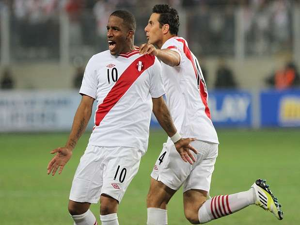 Jefferson Farfán ha anotado 17 goles en 63 partidos con la selección peruana. Foto: Miguel Ángel Bustamante/Terra Perú