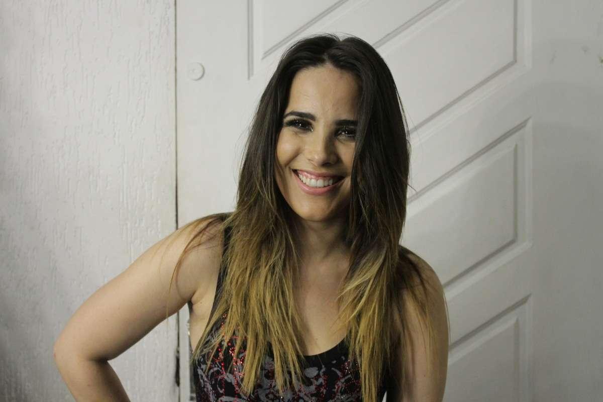 Fiuk compareceu ao show da cantora Wanessa em uma balada de São Paulo na madrugada deste domingo (16) Foto: Paduardo/AgNews