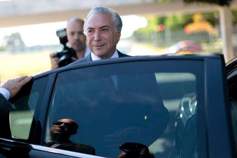 Vice-presidente Michel Temer após entrevista coletiva no Palácio da Alvorada. 28/10/2014 Foto: Ueslei Marcelino/Reuters