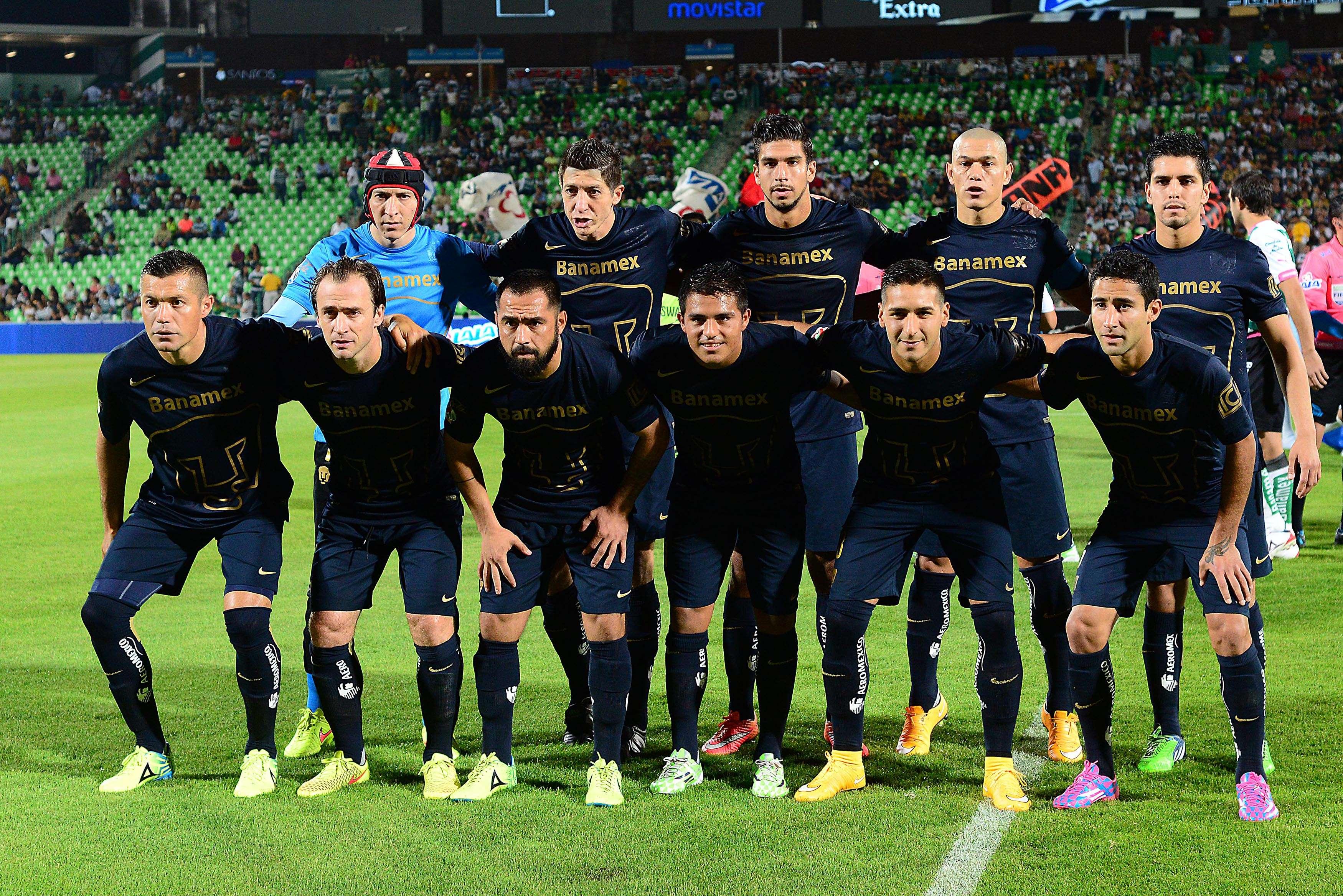 Pumas recibe el domingo a Rayados de Monterrey Foto: Mexsport