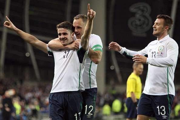 República de Irlanda exhibió a Estados Unidos con goleada de 4-1 en partido amistoso. Foto: AFP