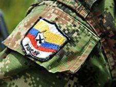 Insignia de las FARC Foto: BBC Mundo/Copyright