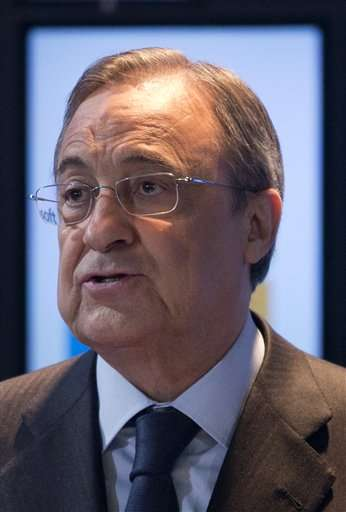 Florentino Perez caught revealing 'IPIC' Real stadium name Foto: AP en español