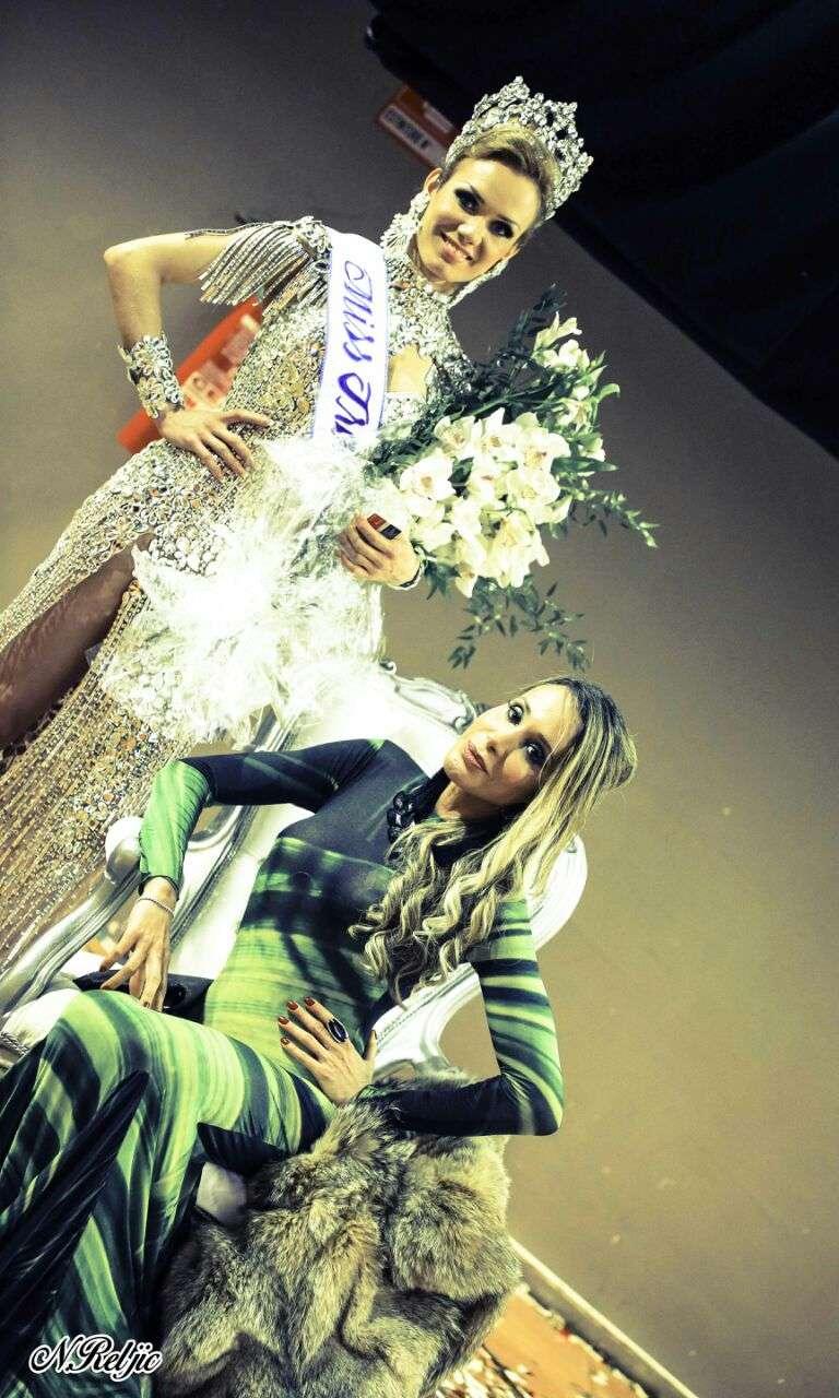 Natural de Belém do Pará, Kalena Rios, 25 anos, foi eleita a transexual mais bonita do mundo e recebeu o título de Miss Universo Trans. A 10ª edição do concurso, que foi realizado na Itália, foi disputada por candidatas de vários países Foto: Karoline d'Lemarki/Divulgação