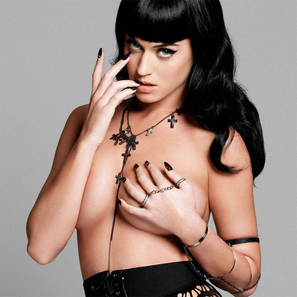 Perfecta Katy Perry. Foto: Esquire Magazine
