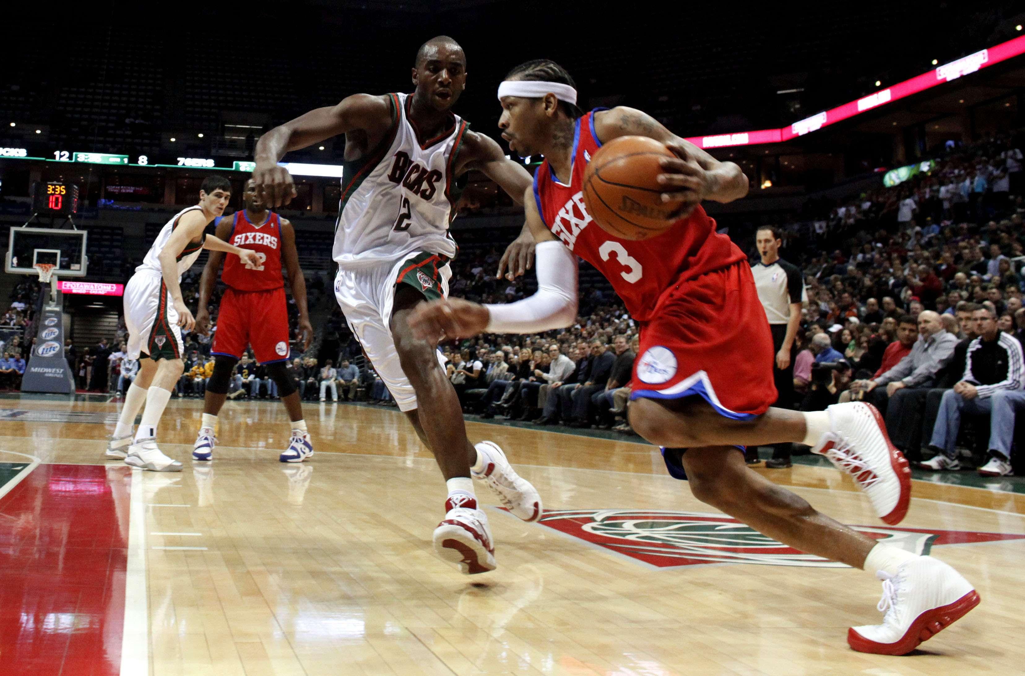Iverson acusó a Nike de utilizar su imagen sin permiso. Foto: AP