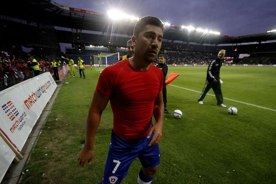 """El """"Fantasista"""" quiere jugar Copa América. Foto: Agencia UNO"""