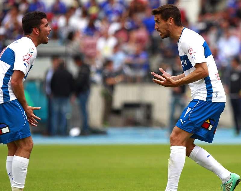 """Cordero dice que ganar a Colo Colo """"salvaría el semestre"""". Foto: Agencia UNO"""