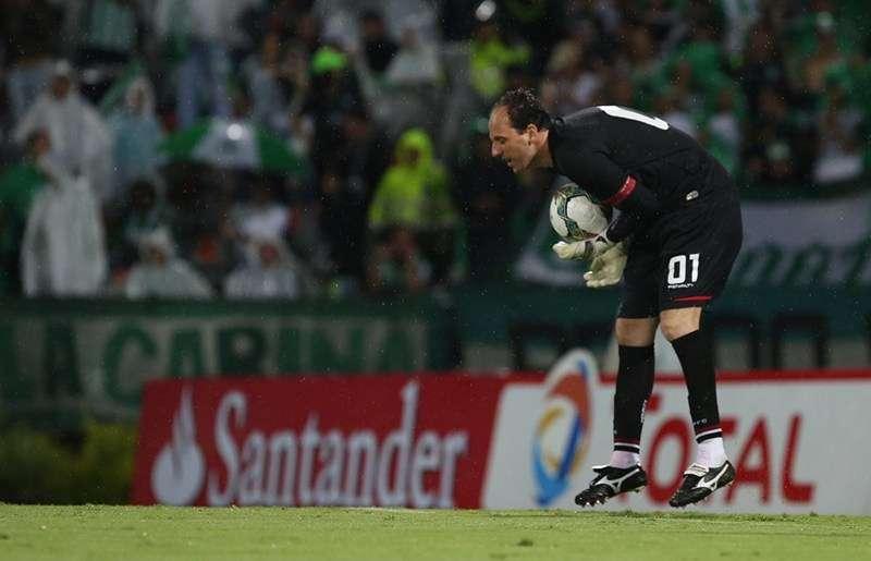 Rogério Ceni foi o melhor são-paulino em campo Foto: Rubens Chiri/saopaulofc.net/Divulgação