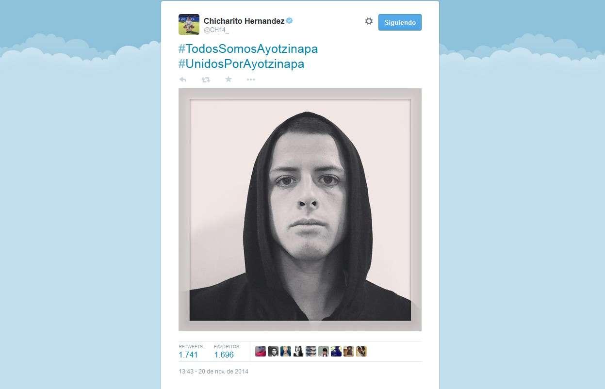 Este es el tuit que publicó el atacante mexicano. Foto: Twitter: @@CH14_