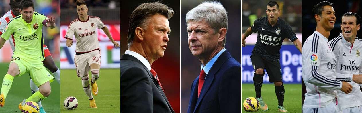 Destaca el Arsenal-Manchester United en Inglaterra e Inter-Milan en Italia Foto: Gettty Image