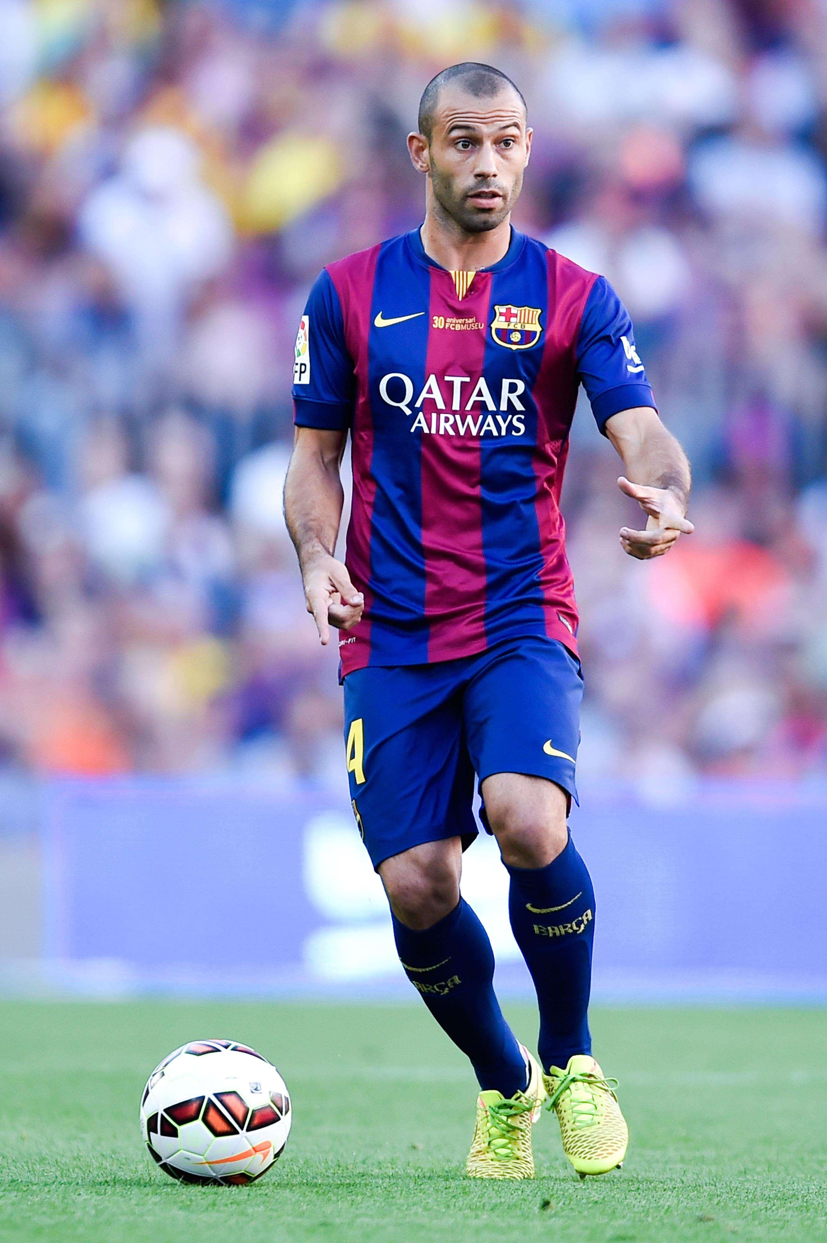 Mascherano asegura que Messi seguirá en Barcelona. Foto: Getty Images