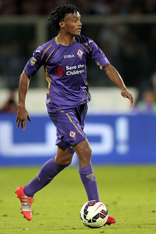 Cuadrado juega actualmente en la Fiorentina. Foto: Getty Images