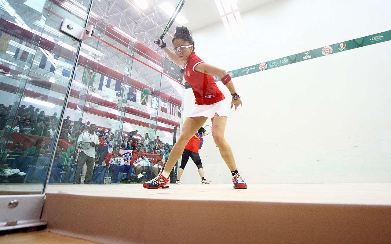 Paola Longoria avanzó a la final de raquetbol de los Juegos Centroamericanos. Foto: Imago7