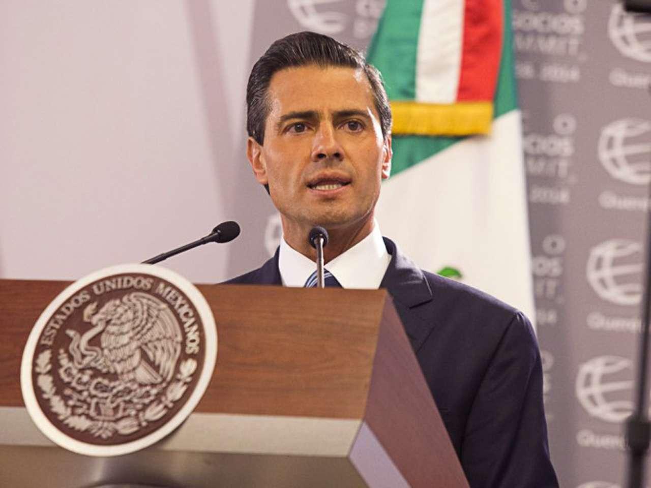 El Presidente Peña Nieto reveló su declaración patrimonial, en la que dice que cuenta con cuatro casas, un departamento y cuatro terrenos. Foto: Presidencia