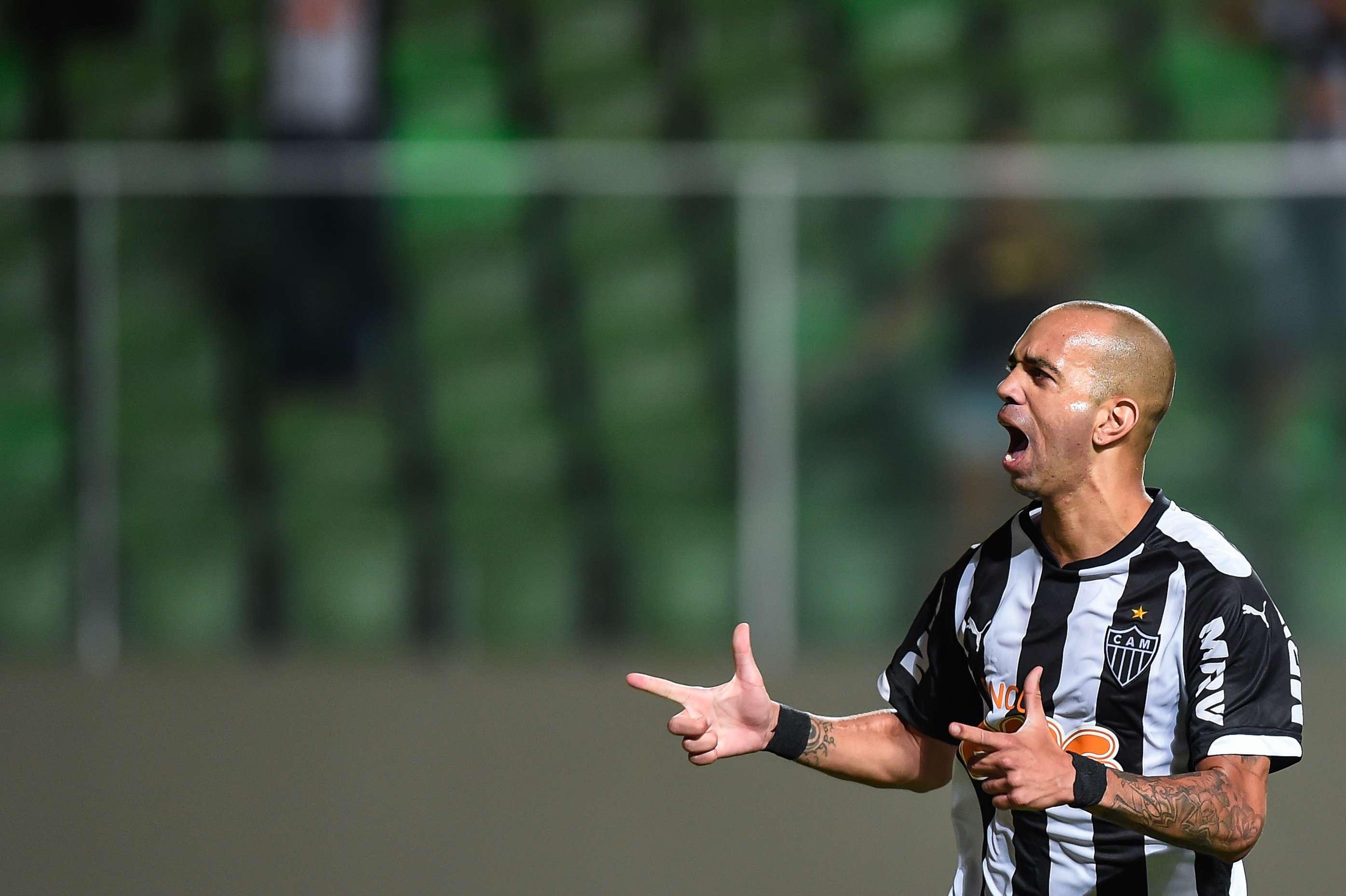 Tardelli fez um dos gols atleticanos Foto: Pedro Vilela/Getty Images