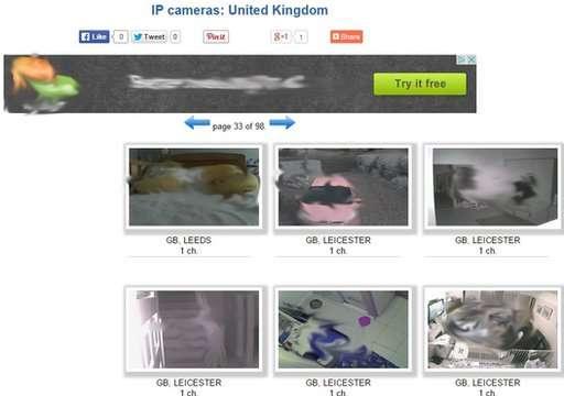 En el sitio hay una lista de cámaras en más de 250 países Foto: BBCMundo.com