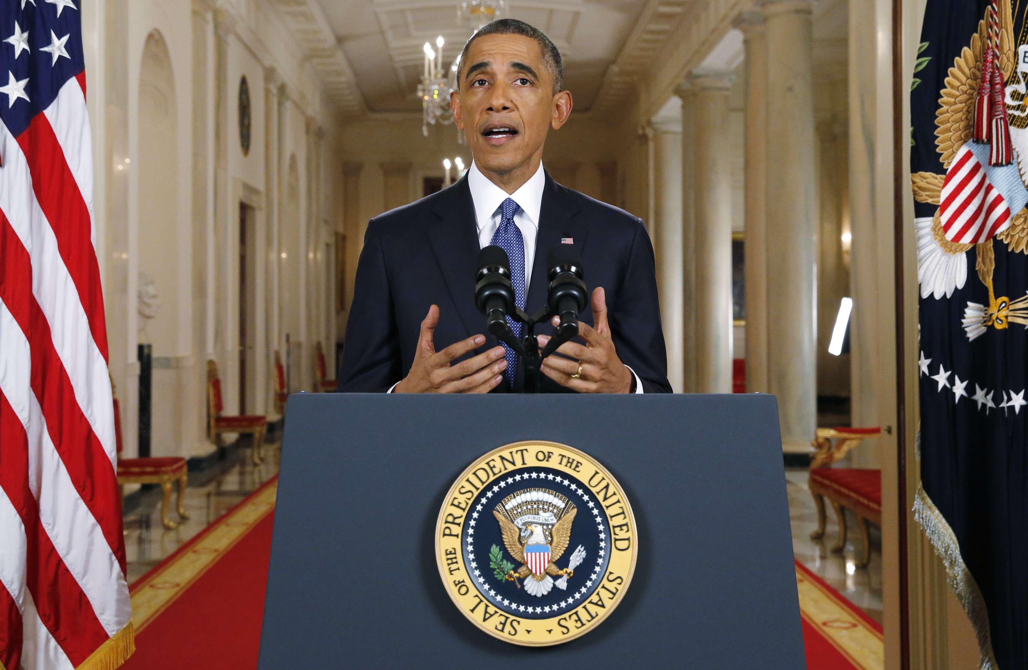 Las Acciones Ejecutivas de Responsabilidad por la Inmigración del Presidente de EU, Barack Obama, ayudarán a asegurar la frontera, hacer responsables a cerca de 5 millones de inmigrantes indocumentados, y asegurarse de que todos se rijan por las mismas reglas. Actuando dentro de su autoridad legal, el Presidente está dando un paso importante para arreglar nuestro sistema de inmigración. Foto: AFP en español