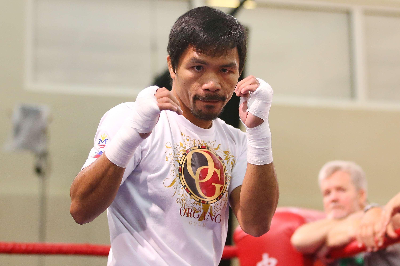 El filipino Manny Pacquiao vuelve a subirse al ring este sábado en Macao Foto: Gettyimages