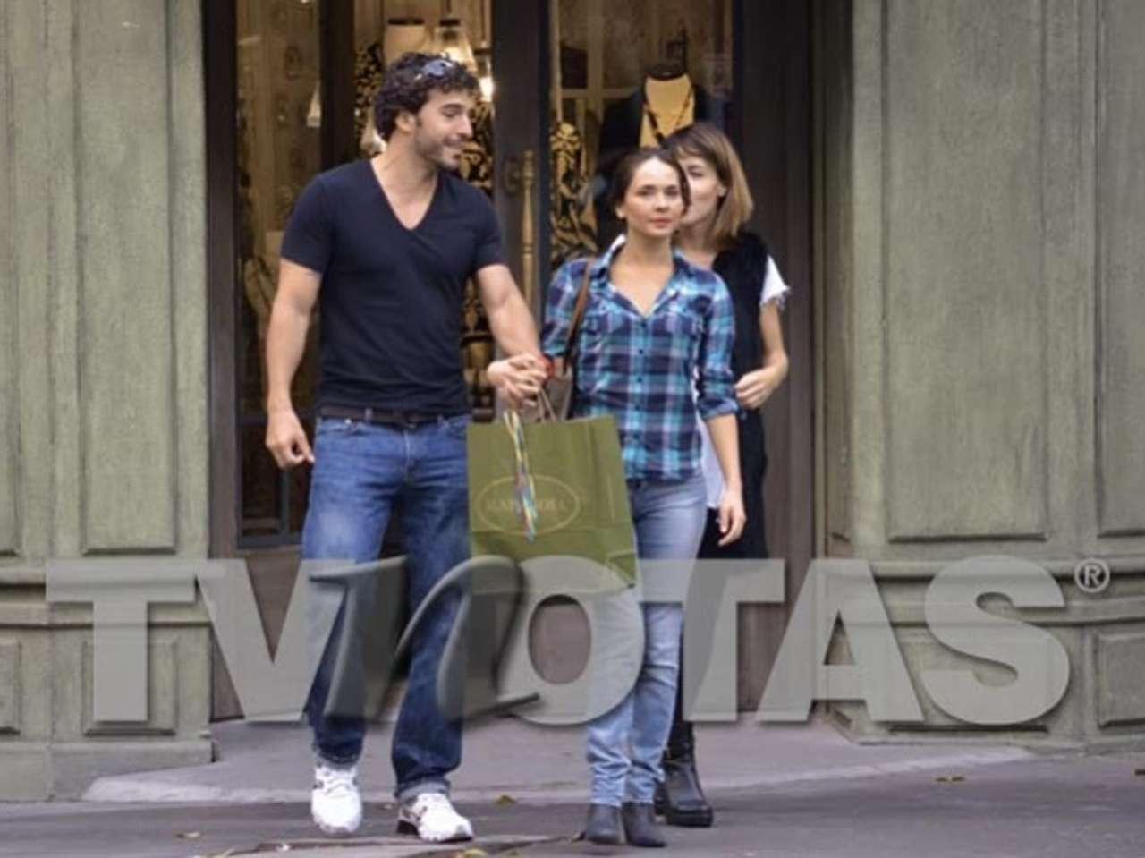 Adriana Louvier y Calos Salas. Foto: TV Notas