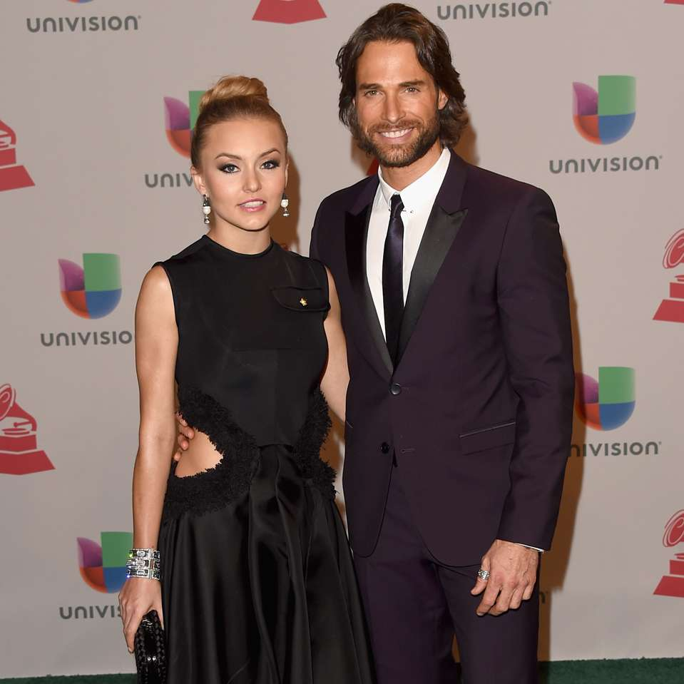 Latin Grammy 2014 - Parejas - Angelique Boyer y Sebastián Rulli. Foto: Getty Images