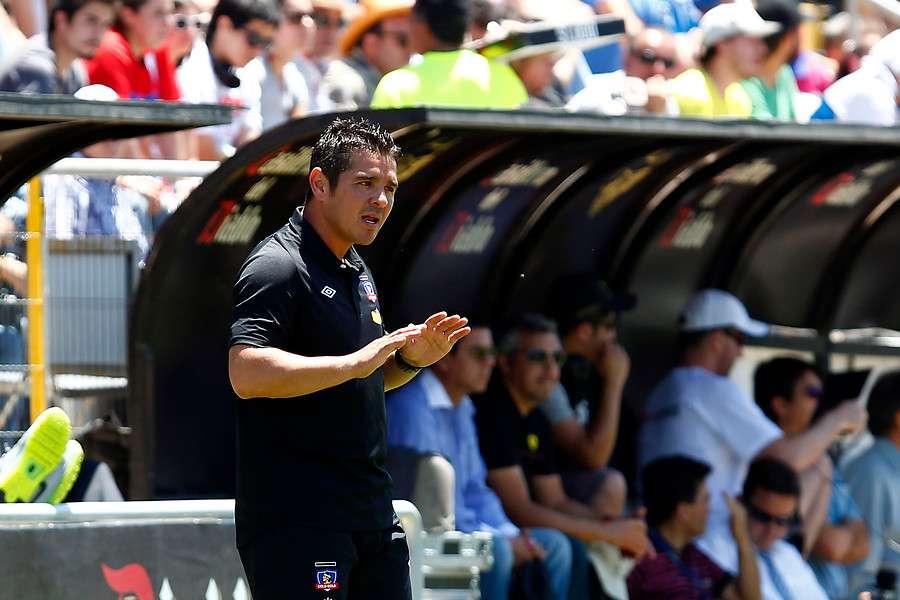 Héctor Tapia se enfoca en los partidos de Colo Colo y no del resto. Foto: Agencia UNO