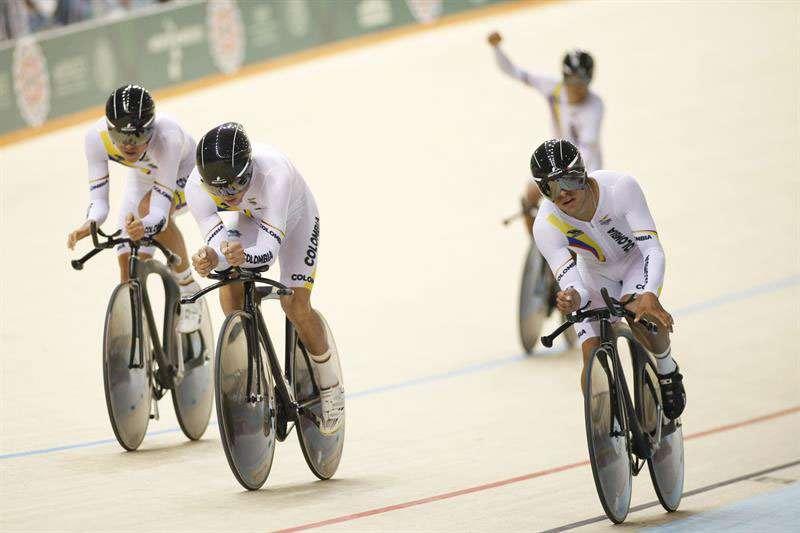 Colombia el mejor en ciclismo de pista. Foto: EFE en español