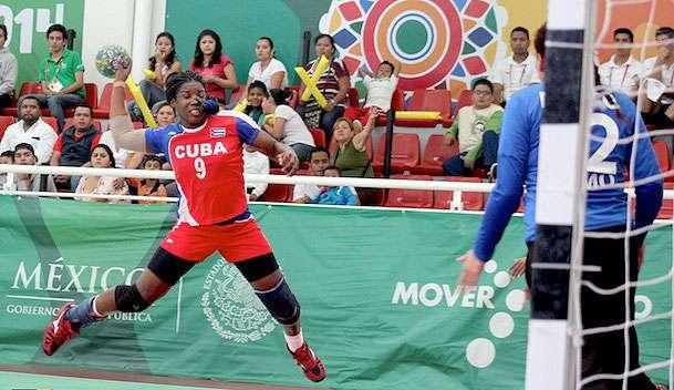 Cuba se consagró campeón del balonmano femenil de los Juegos Centroamericanos y del Caribe Veracruz 2014 Foto: Tomada de http://www.noventaminutos.mx/