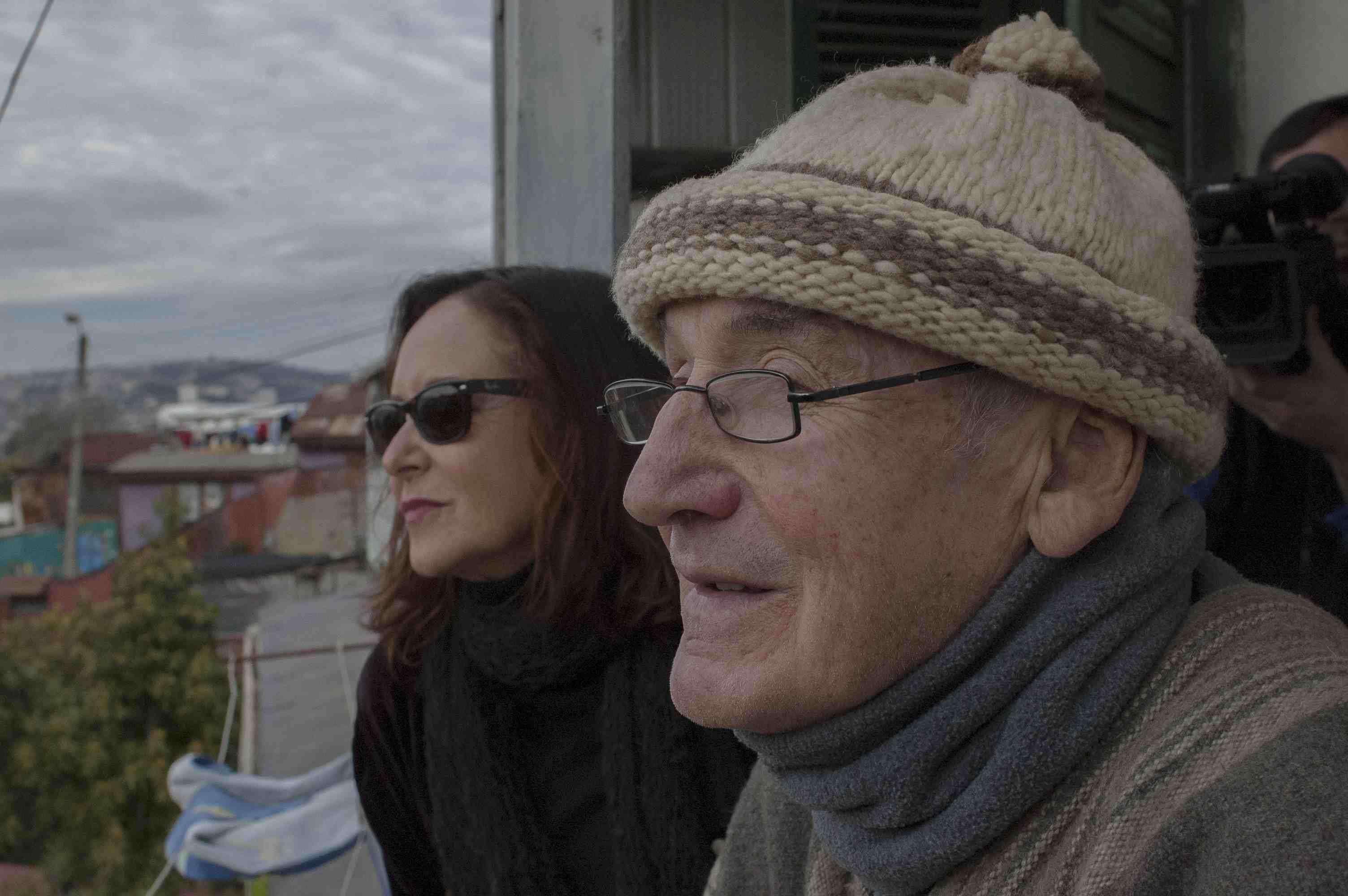 Gloria Laso junto a Sergio Buschmann. Foto: Gentileza