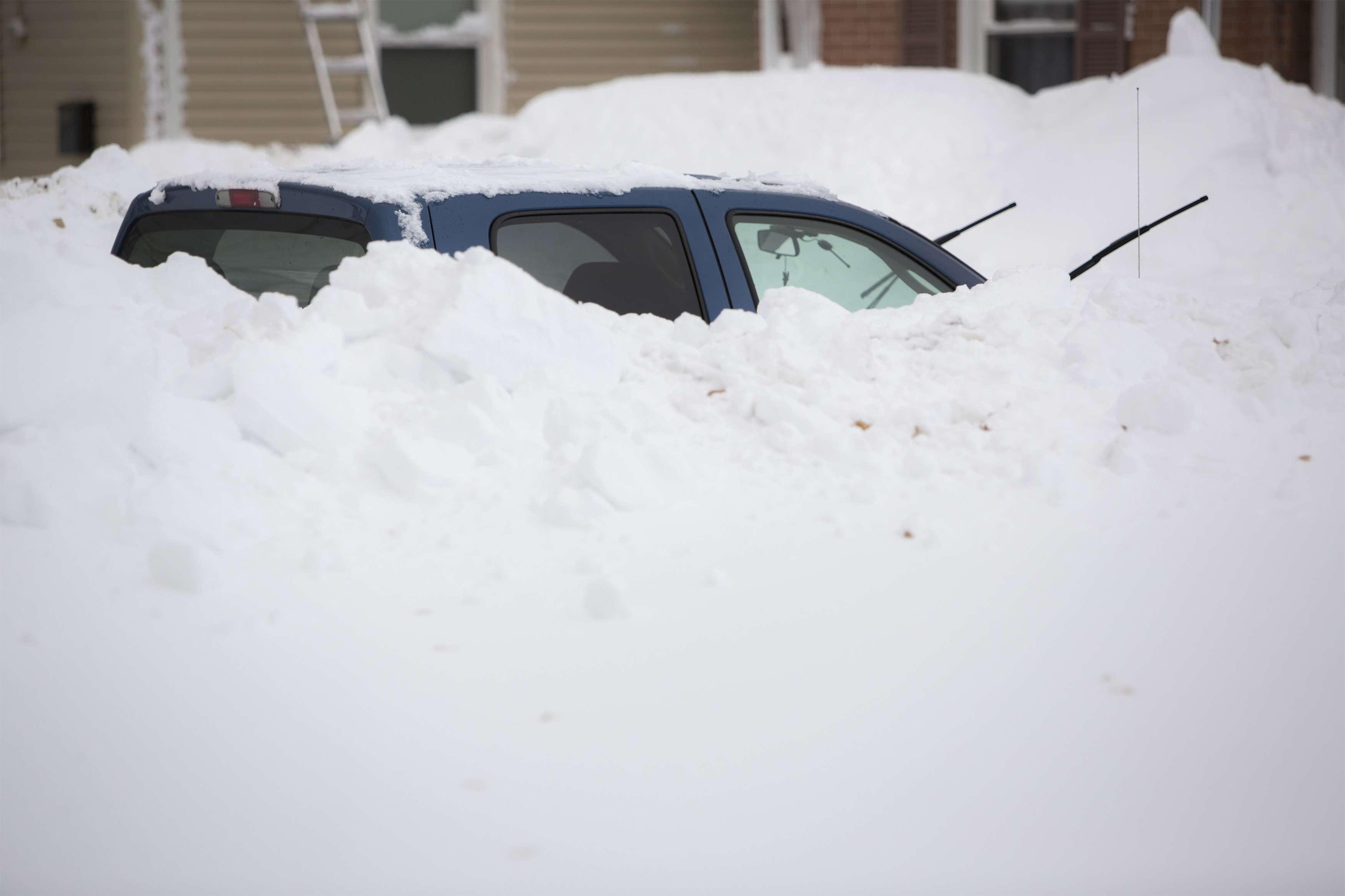 As precipitações que caíram em apenas dois dias equivalem à quantidade de neve registrada em um ano inteiro Foto: Lindsay DeDario/Reuters
