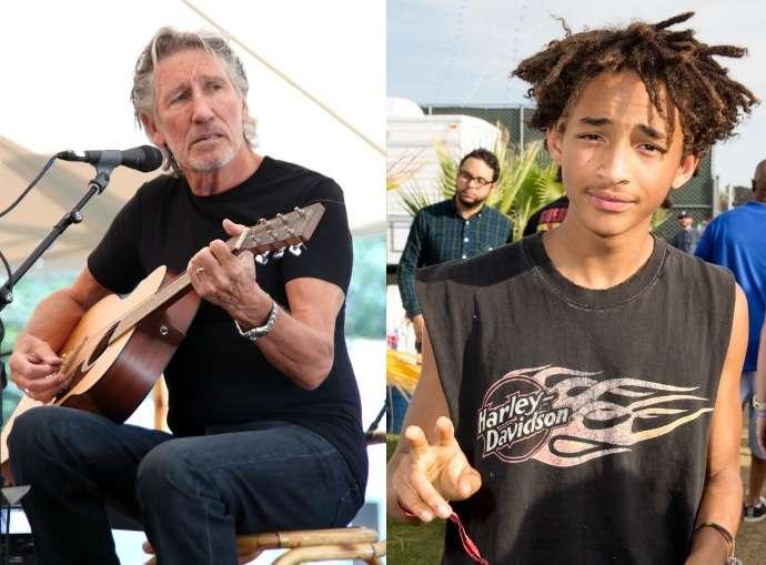 Jaden Smith fez rap em uma das músicas do Pink Floyd e os fãs pediram para Waters processá-lo Foto: Getty Images