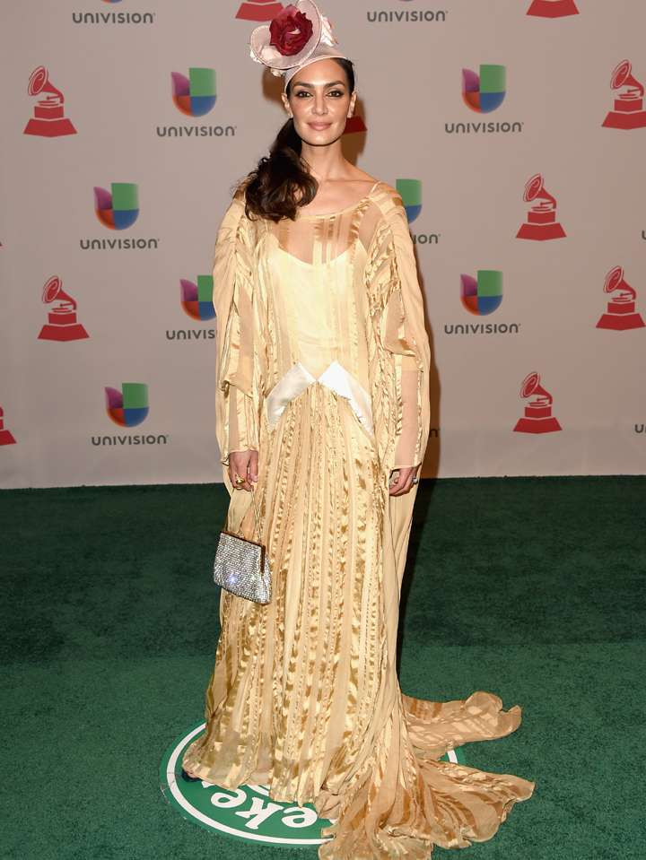 Peor vestidos - Latin Grammy 2014: Jenni Lopez. Foto: Getty Images