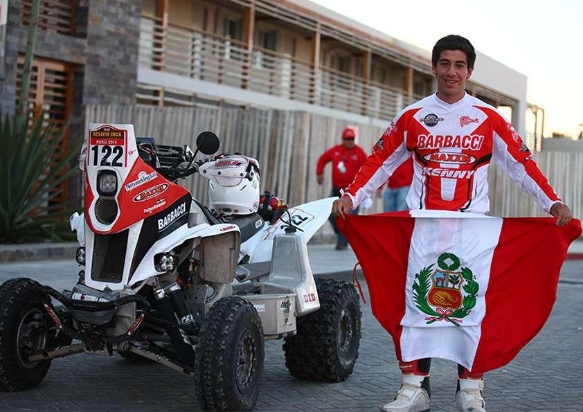 Juan Alonso Pacheco-Benavides no podrá ser parte de los peruanos que participarán del Dakar 2015. Foto: Difusión