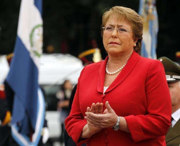 Presidente do Chile, Michelle Bachelet, em foto de arquivo. 12/05/2014 Foto: Enrique Marcarian/Reuters