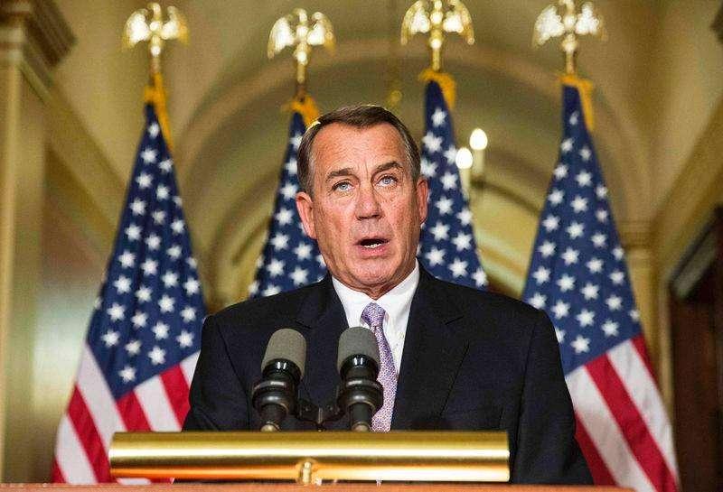 Presidente da Câmara dos Deputados, John Boehner, em pronunciamento no Capitólio. 21/11/2014 Foto: Joshua Roberts/Reuters