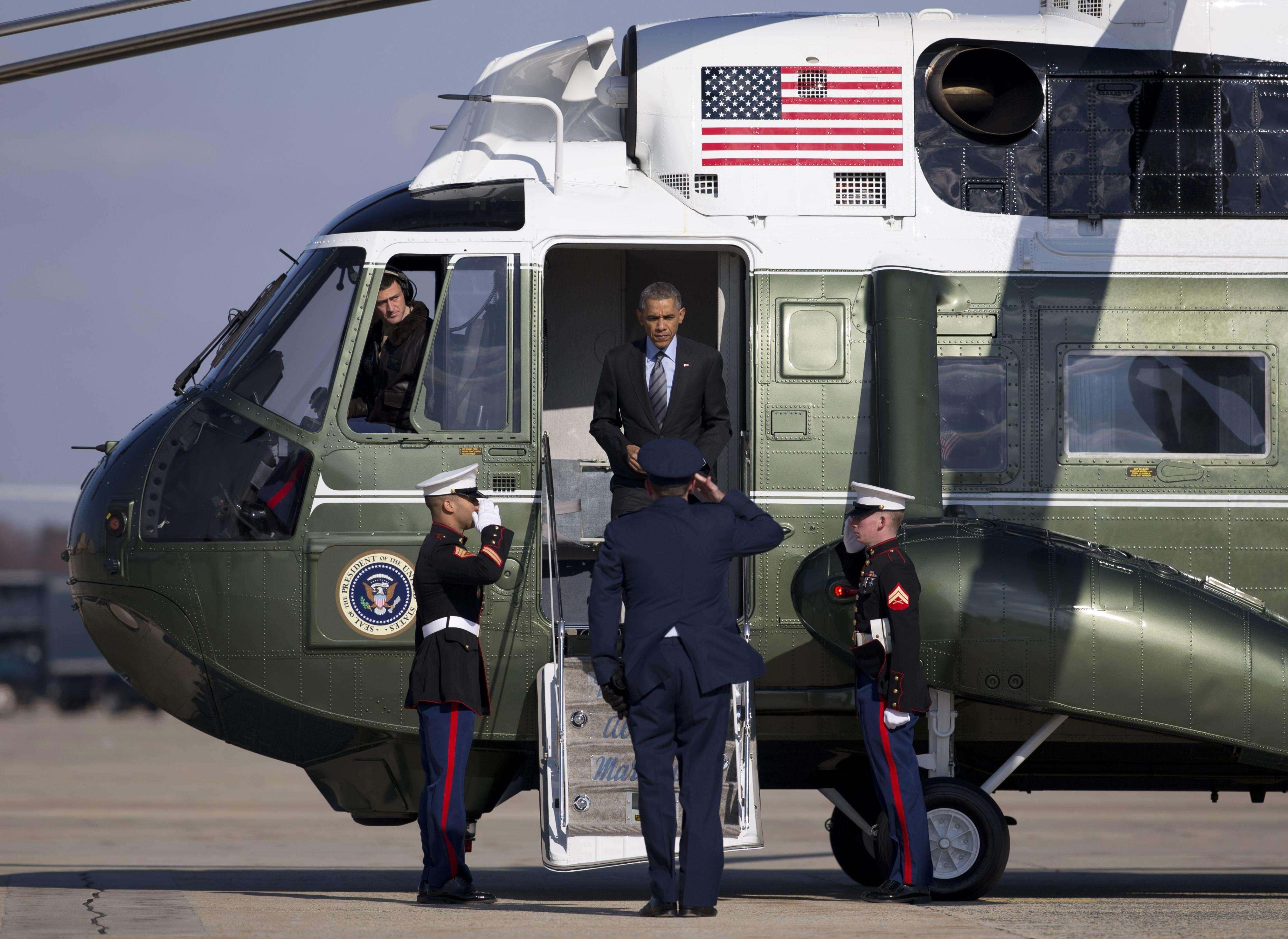 El presidente Obama visita Las Vegas a un día de anunciar sus medidas en materia de inmigración. Foto: AP en español