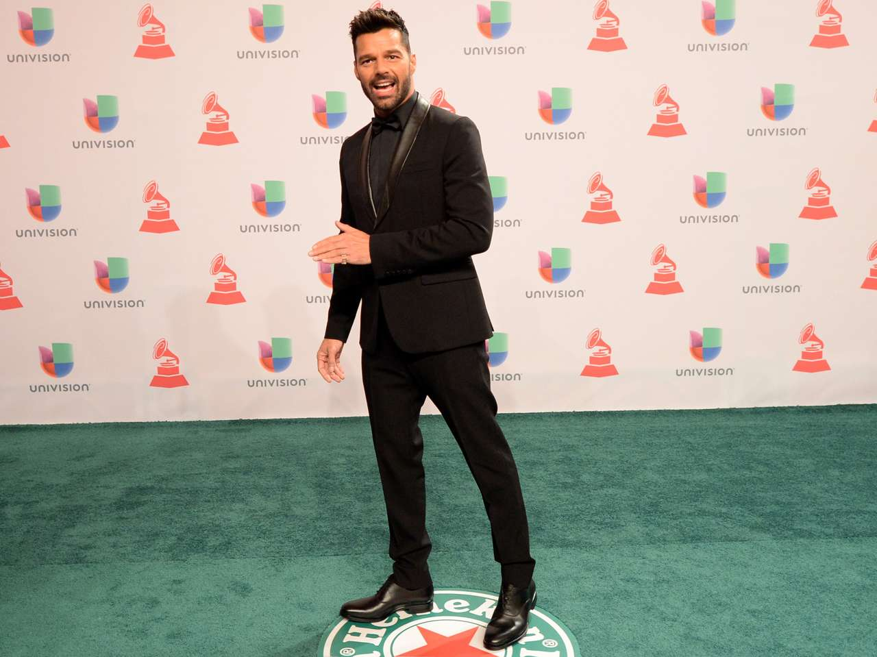 Galanes - Latin Grammy 2014: Ricky Martin. Foto: Getty Images