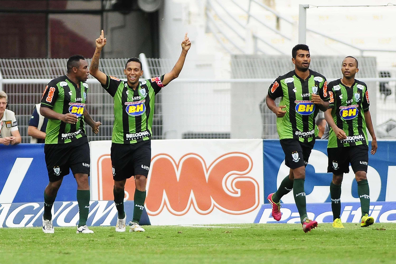 América-MG venceu com gol contra aos 28min do segundo tempo Foto: Rodrigo Villalba/Futura Press