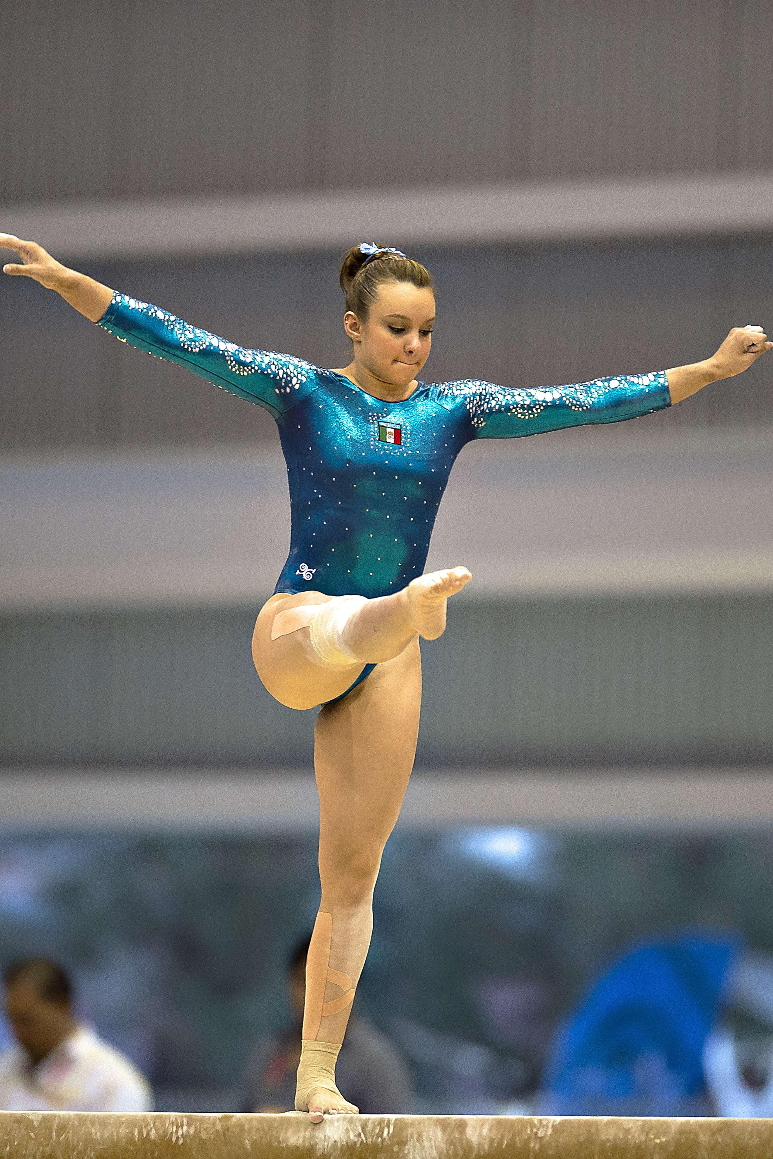 La mexicana presentó elementos acrobáticos en diferente dirección. Foto: Mexsport