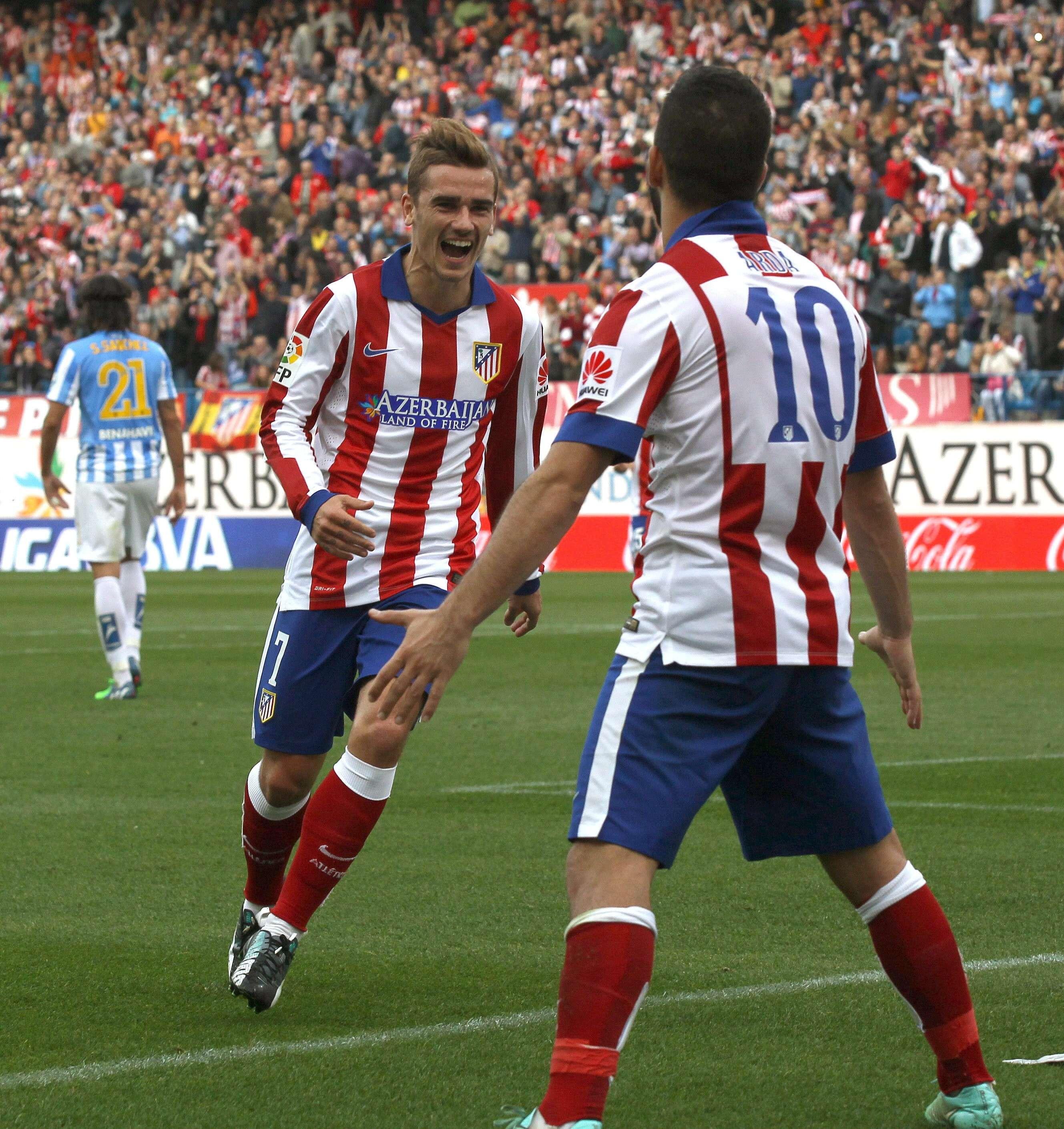 Atlético de Madrid - Málaga. Foto: EFE en español