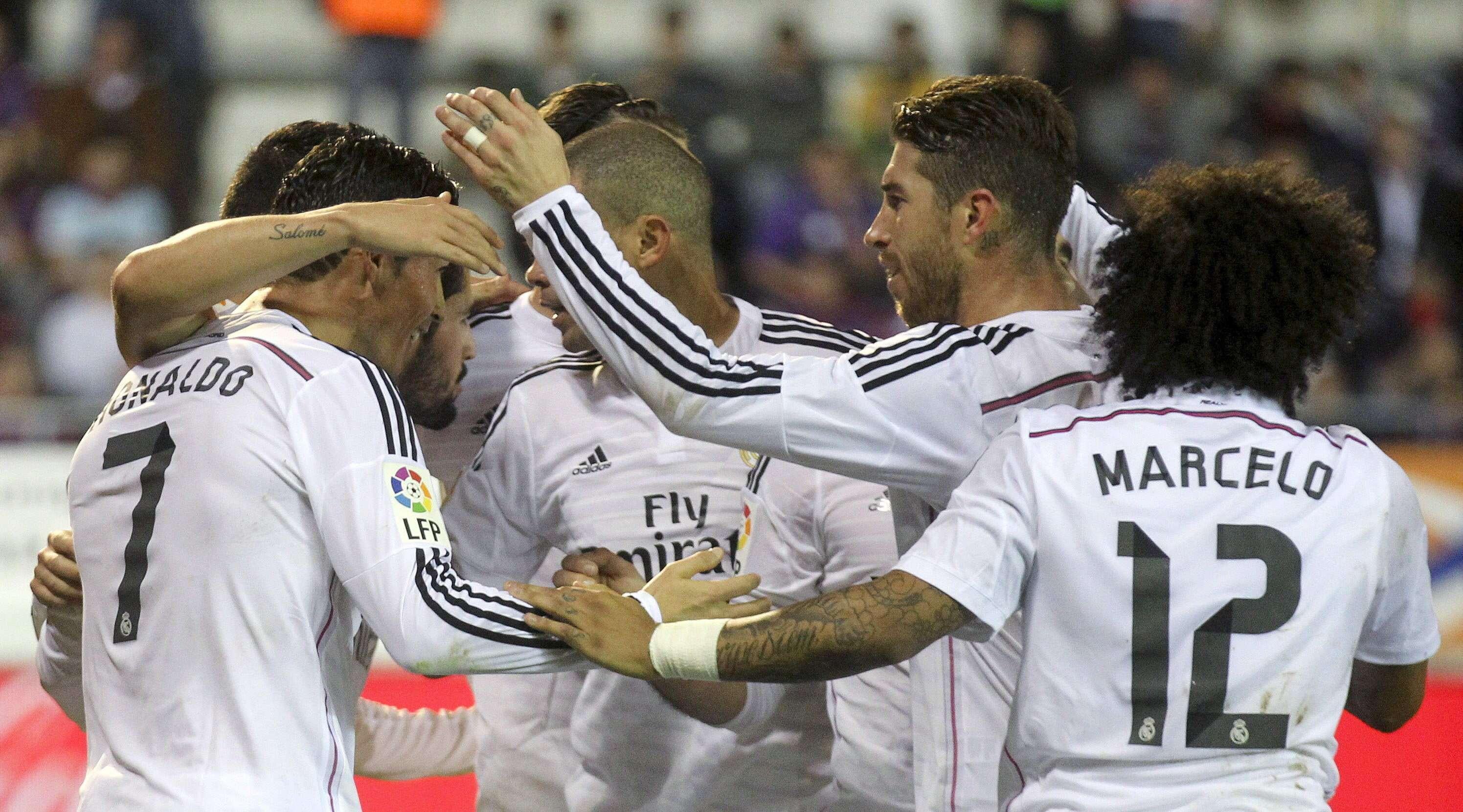 Eibar - Real Madrid. Foto: EFE en español
