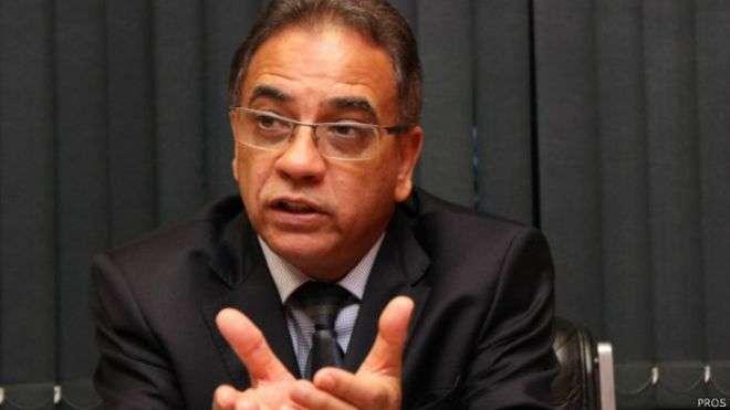 O deputado federal Ronaldo Fonseca (PROS-DF) votou favoravelmente ao Estatuto da Família Foto: BBCBrasil.com