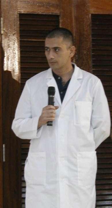 Médico cubano contraiu vírus em Serra Leoa Foto: Twitter