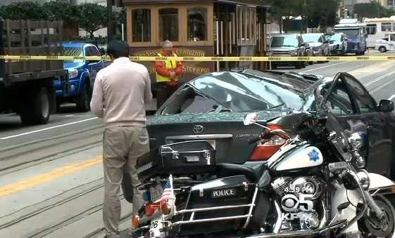Homem caiu de 11 andares em cima de veículo em movimento Foto: CBS Local/Reprodução