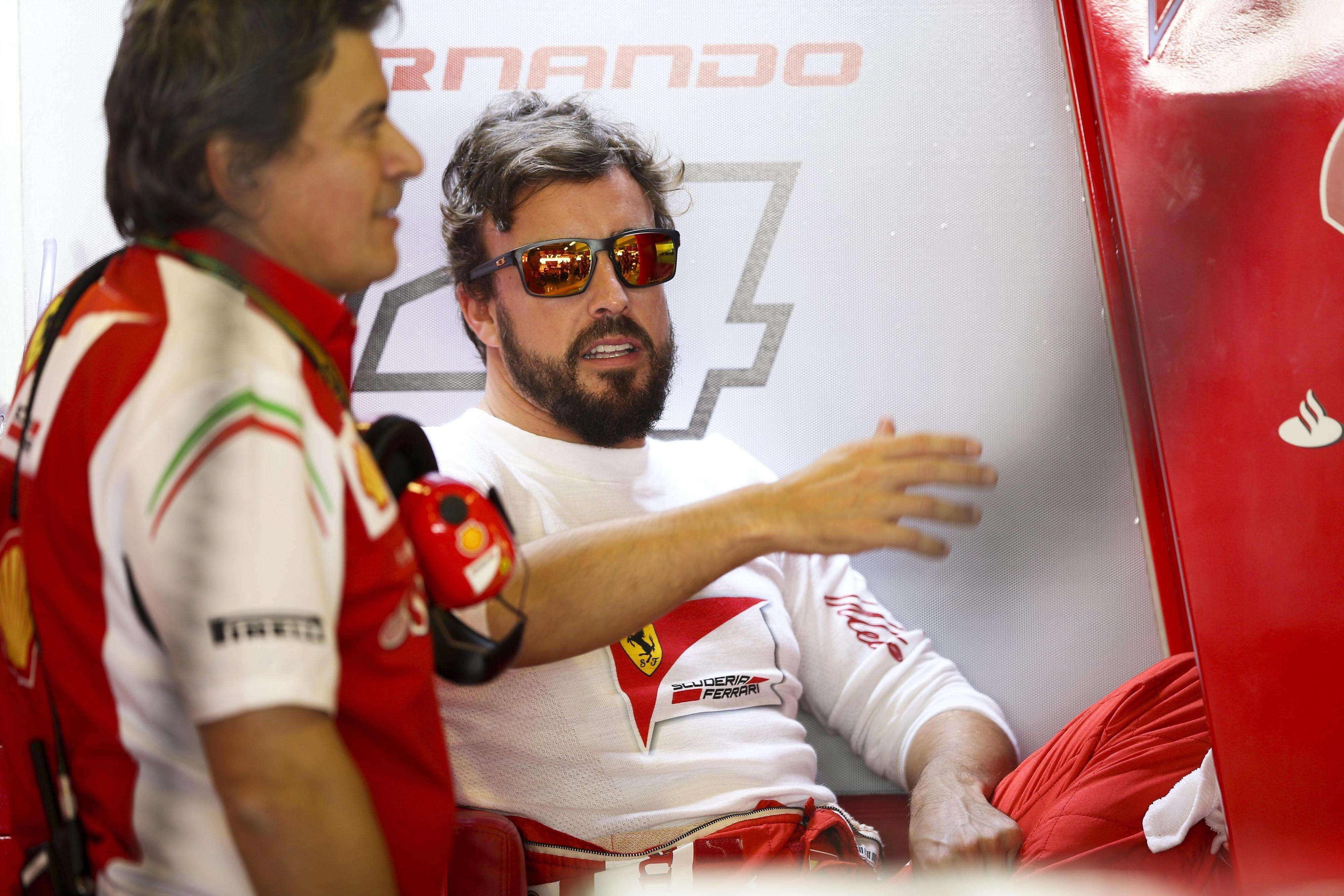 Fernando Alonso, en Abu Dabi. Foto: EFE en español