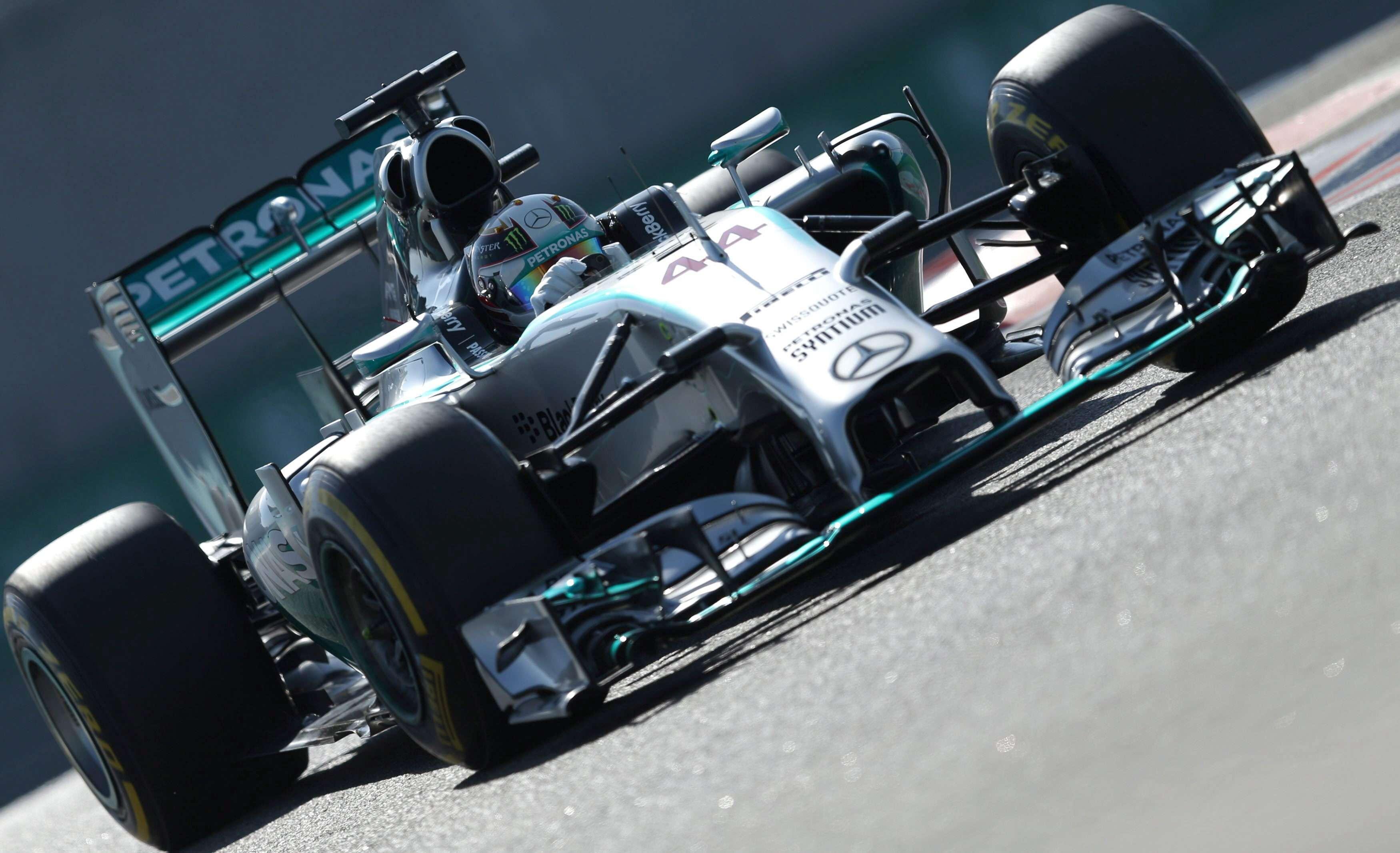 Lewis Hamilton, en Abu Dabi. Foto: EFE en español